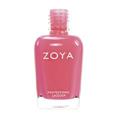 Zoya Maya Nail Polish | Maya by Zoya can be best described as: Semi-opaque bright pink coral with tangerine undertones.A bright tropical coral for a translucent jelly-like finish on your manicure or pedicure. | Cream | Intensity: 2