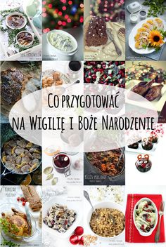 Co przygotować na Wigilię i Boże Narodzenie White Christmas, Christmas Time, Holiday, Christmas Inspiration, Slow Cooker, Recipies, Food Porn, Food And Drink, Menu