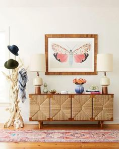 """""""How to Make Cozy Look Cool"""" from HGTV Magazine, May Read it on the Texture app-unlimited access to top magazines. Entryway Console, Entryway Decor, Foyer, Decorating Your Home, Interior Decorating, Interior Design, Interior Paint, Cafe Interior, Entryway Paint Colors"""