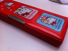 Vintage Sanrio Pencil Holder Soft Padded Case by NiftyVintageGirl, $24.00