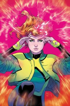 ComicsVerse discusses the rise and fall of the time-displaced teenage Jean Grey from Dennis Hopeless's JEAN GREY published by Marvel. Marvel Comics, Marvel Art, Marvel Heroes, Marvel Xmen, Marvel Characters, Captain Marvel, Jean Grey Phoenix, Dark Phoenix, Phoenix Force