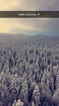 #snow #mountains #cablecar #ıce #tree