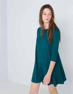 Bershka Ukraine - Bershka long sleeve dress