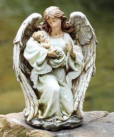 This Angel & Baby Figurine is perfect! #zulilyfinds