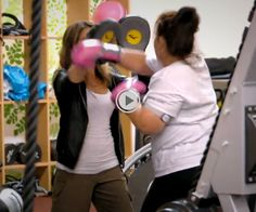 Dannie is doing a kickbox routine with Jillian on #BiggestLoser while wearing our Core Armband See the episode here: http://www.nbc.com/the-biggest-loser/video/cut-the-junk/n31563/