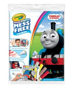 Take a look at this Thomas & Friends Color Wonder Markers & Paper today!