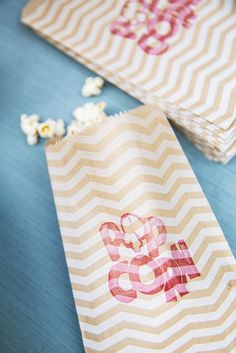Popcorn Stamp- made with the Undefined Stamp Carving Kit.