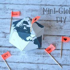 Cuchikind - DIY-Kids-Lifestyle: Mini-Globus DIY (Freebie)