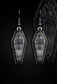 Restyle // Coffin Earrings