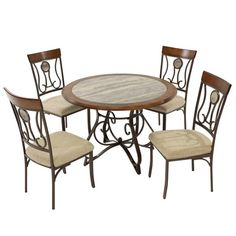 Hopstand 5-Piece Casual Dining Set El Dorado furniture Miami