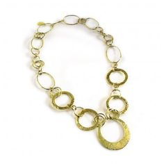 Ippolita: Hammered Chain necklace
