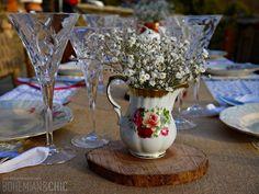 Inspiración para una boda Bohemian and Chic en el campo 2ª parte | Bohemian and Chic