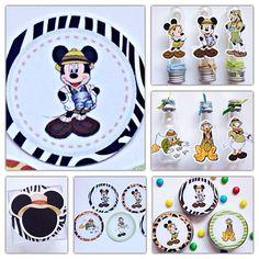 Kit Festa 150 Itens - Mickey Safari