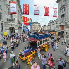 Another still from yesterday's event at - Cench New Bus, Routemaster, Piccadilly Circus, London Bus, Bus Stop, Times Square, History, Street, Travel