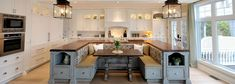 The Cape Cod: Country-Style Kitchen Modern Farmhouse Kitchens, Rustic Kitchen, Country Kitchen, New Kitchen, Kitchen Decor, Kitchen Ideas, Kitchen Island With Stove, Kitchen Islands, Kitchen Lighting Design