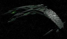 "Valdore Romulan warbird from ""Star Trek Nemesis"""
