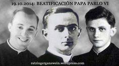 BEATIFICACIÓN PAPA PABLO VI