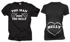 Couple Pregnancy Tshirt  Dad Maternity Shirt by MilkyWayTshirts
