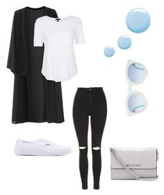 """""""❤️"""" by fashionista-sundus on Polyvore featuring Topshop, Vans and MICHAEL Michael Kors"""