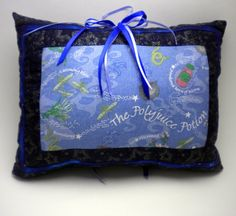 Magical Polyjuice Potion Tooth Fairy Pillow by IvoryTowerDesigns, $20.00 #VHO
