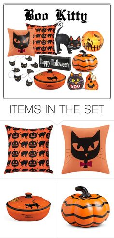 """""""boo kitty"""" by sum1smuse ❤ liked on Polyvore featuring art"""
