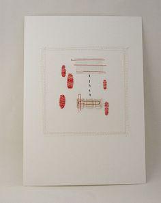 Thread on paper Ingrid van den Brand