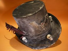voodoo priest tophat | ... Grave Digger Top Hat - also makes a fun voodoo priest hat - how to