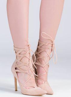So Strapping Velvet Heels GoJane.com | Shoes | Pinterest