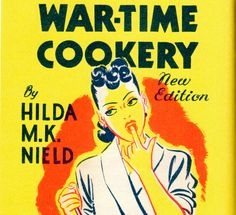 War-time Cookery book. #vintage #1940s #WW2