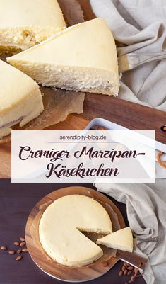 Kuchen As a cheesecake fan, I'm always looking for new tasty recipes. Today there is one with marzipan from Cynthia Barcomi! Easy Smoothie Recipes, Easy Smoothies, Easy Healthy Recipes, Easy Meals, Breakfast Smoothies, Yummy Recipes, Coconut Recipes, Baking Recipes, Cookie Recipes