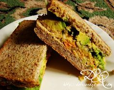 Dates & Quinces: My Favourite Chickpea Salad Sandwich Lunch Snacks, Lunches, Ital Food, Food Food, Yummy Food, Tasty, Yummy Yummy, Burger Cake, Chickpea Salad Sandwich