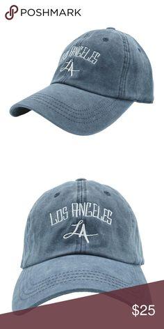 3f30625ce06 Los Angeles Dad Hat - Blue Denim Stylish dad hats for men and women!  Adjustable