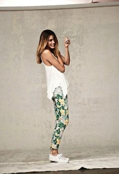 The Patterned Pant // The Effortless Chic