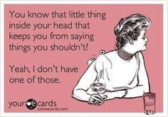 My new ADHD tagline! LOL