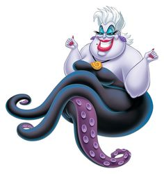 URSULA The Little Mermaid Villan Instant by LittleDebsDownloads