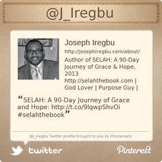 My Twitter profile: @J_Iregbu. Follow me... (http://josephiregbu.com)