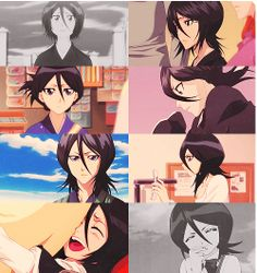 Find images and videos about anime, bleach and rukia on We Heart It - the app to get lost in what you love. Ichigo E Rukia, Rukia Bleach, Clorox Bleach, Bleach Fanart, Bleach Manga, Manga Anime, Anime Nerd, Shinigami, Little Misfortune