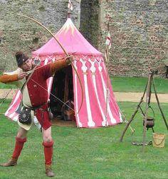 Taken at Framlingham castle, Suffolk, Ian spent many happy days in the guise of Watkin