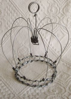 Rustic Wire Crown