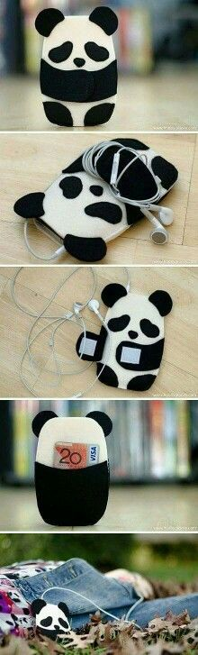 Audifonos panda