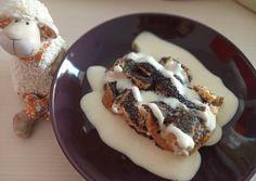 Mákos guba vaníliasodóval | Picc receptje - Cookpad receptek Guam, Bourbon, Waffles, Pudding, Poppy, Breakfast, Food, Bourbon Whiskey, Morning Coffee