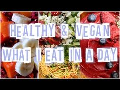 HEALTHY & VEGAN What I Eat in a Day #11 | Raw in College - YouTube