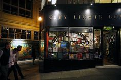 The famed, venerable City Lights bookstore in North Beach is a still-vibrant relic of the long-ago Beat culture that once shocked the squares. Photo: Scott Strazzante, The Chronicle