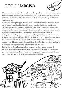 IL MITO DI ECO E NARCISO | Portale Bambini Crazy Cat Lady, Crazy Cats, Italian Language, Ecology, Back To School, Homeschool, Learning, Loki, Wallpapers