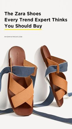 Design and substance overlap in common wide array of Flat Shoes for ladies, look around the trendiest houses and ballerina houses this bounce. Beautiful Sandals, Zara Shoes, Comfortable Fashion, Who What Wear, Things That Bounce, Flats, Flat Shoes, My Style, Fashion Trends