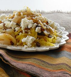 Spaghetti Squash with Bacon and Onions from Frugal Antics of a Harried Homemaker