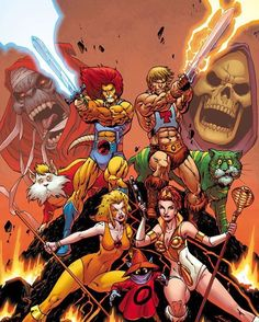 Master Del Universo VS Thundercats Follow us on Instagram and Twitter the best HD images from the world of comics and anime from here you can find all HD images of comics and anime visit us for our Instagram and twitter. #marvel #marvelcomics #marvelstudios #marveluniverse #marvelentertainment #marvelcomic #waltdisney #marvellegends #disney #vs #dccomics #dcnation #dcuniverse #dccomicsuniverse #dcfilms #dcentertainment #dccomic #dc #warnerbros #manga #anime #bandai #toeianimation #madhouse…