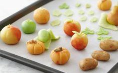 Marzipan Fruits Recipe by Anna Olson