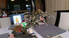 This guy looks awesome. This was a work in progress Mawloc painted by NoSlawXtraToast.