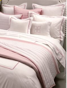 Visit DeWoolfsonLinens.com for Bitsy Dots Bed Linens This all-cotton white  percale collection 46191b3be